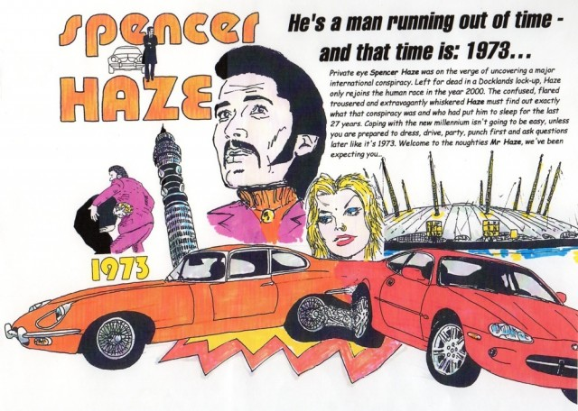 Spencer Haze poster