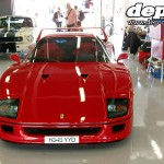 Silverstone Classic: Ferrari F40 and Ford Mustang GT