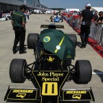 Silverstone Classic: Ronnie Peterson's 1974 JPS Lotus 76