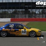 Silverstone Classic: Super Touring BTCC Ford Mondeo