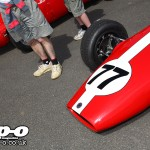 Silverstone Classic: Gez continues worrying appreciation of blokes' hairy legs