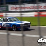 Silverstone Classic: Broadspeed XJ12C at full throttle
