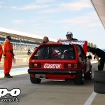 Silverstone Classic: Sunbeam Lotus in the pits
