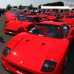 Silverstone Classic: 25th birthday of the Ferrari F40