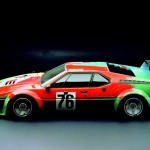 1979 BMW M1 Gruppe 4 Rennversion Art Car by Andy Warhol