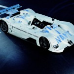 1999 BMW V12 LMR Art Car by Jenny Holzer