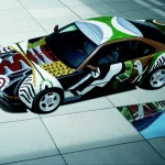1995 BMW 850CSi Art Car by David Hockney