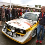Walter Roehrl's Audi Quattro Sport at Goodwood Festival of Speed 2012