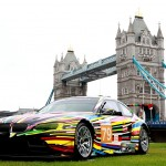 2010 Jeff Koons BMW M3 GT2 Art Car by Jeff Koons