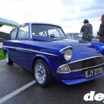 Ford Anglia at the Goodwood Breakfast Club