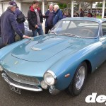 Ferrari 250GT Lusso at the Goodwood Breakfast Club