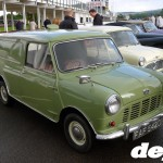 MkI Austin Mini van at the Goodwood Breakfast Club