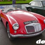 Early MG MGA at the Goodwood Breakfast Club