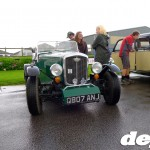 Wolseley special at the Goodwood Breakfast Club