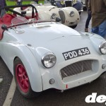 Triumph TR3 at the Goodwood Breakfast Club