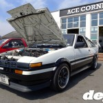 AE86 Toyota Sprinter Trueno at the Retro Toyota Gathering 2012