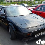 Mk1.5 2-litre turbo MR2 AW11 at the Retro Toyota Gathering