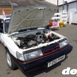 Nissan Sunny Coupe at the Retro Toyota Gathering 2012