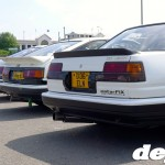 AE86s at the Retro Toyota Gathering 2012