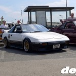 Two-tone AW11 MR2 at the Retro Toyota Gathering