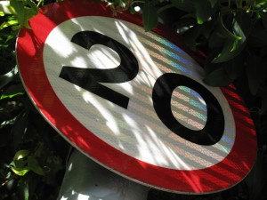 30mph braking distances are out of date and misleading