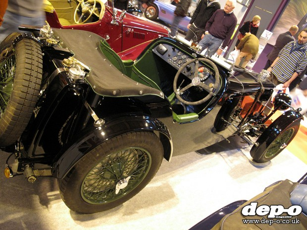 2013 International MG Show and Spares Day: MG K3 Magnette replica