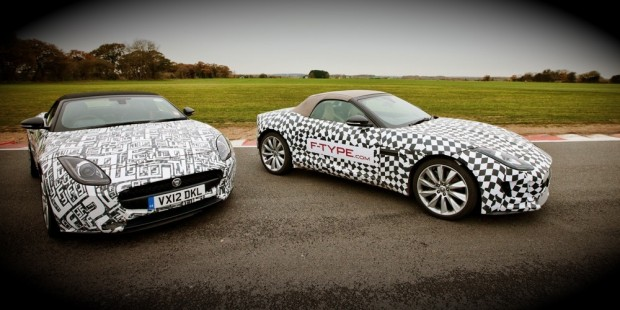 Jaguar F-type: Takes To The Track