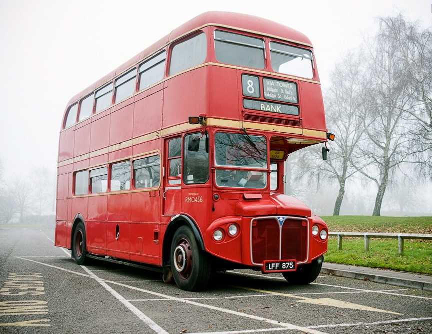 Leyland Routemaster bus for sale at Race Retro