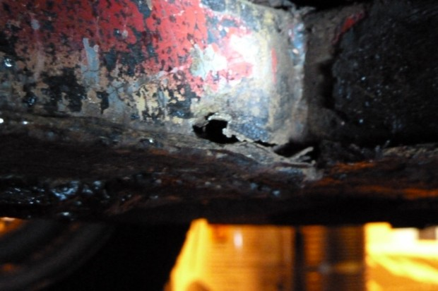 Our Cars: Midget chassis leg rot