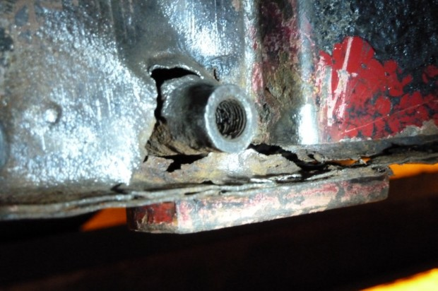 Our Cars: Midget ARB mount sheared