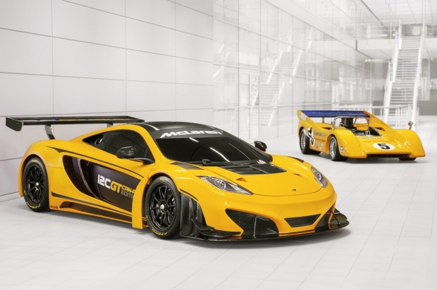 McLaren to showcase heritage at Goodwood Festival of Speed, part of 50th anniversary: MP4-12C GT Can-Am Edition