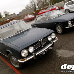 Alfaholics Castle Combe Trackday 2013: Alfa Romeo 1750 and GT Junior