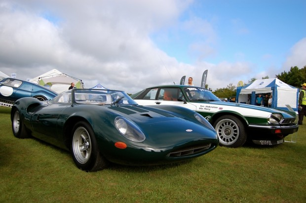 2013 Kop Hill Climb Record Crowds: Jaguar XJ13 and TWR XJ-S