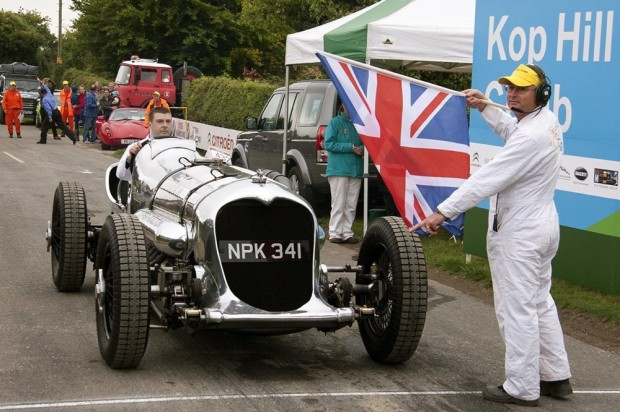 2013 Kop Hill Climb Record Crowds: Napier Railton