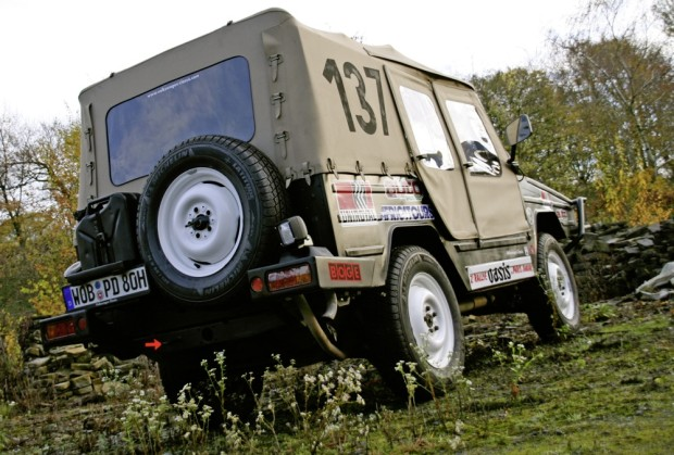 VW Iltis Tackles Tough Le Jog Classic Rally