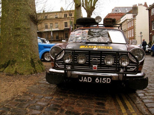 Queen Square 12th January Avenue Drivers' Club Meeting