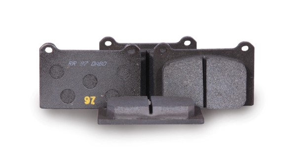 ^ Four-pot (part number 7765) pads in 13 compound