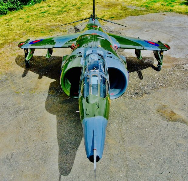 1976 Harrier GR3 XZ130 Restoration